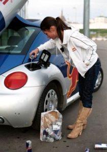Оригинальное топливо для авто