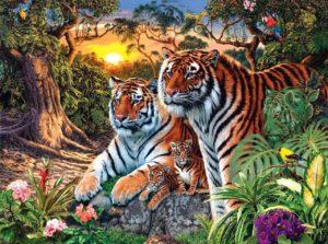 Тигры головоломки