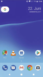 Android8.1 Рабочий стол